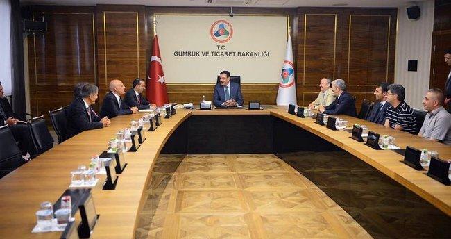 Yeni Malatyaspor'dan Bakan Tüfenkci'ye ziyaret