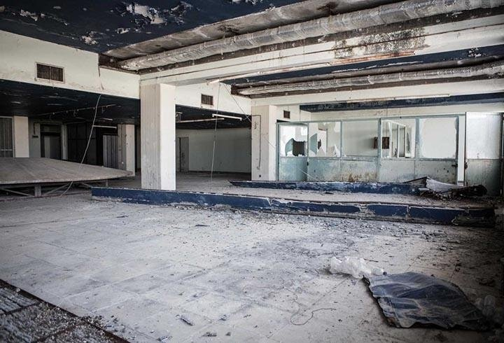 Lefkoşa'nın hayalet havalimanı