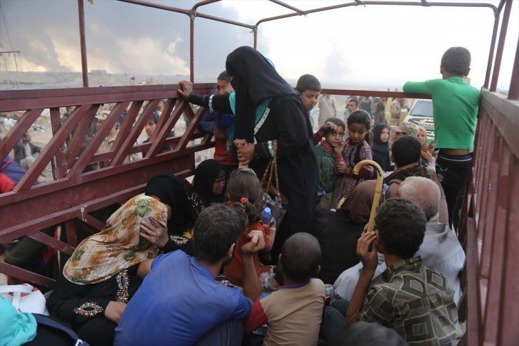 Musul'un çevre köylerinden kaçış başladı