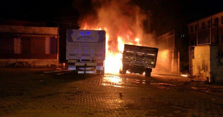 Diyarbakır'da yangın: 2 yaralı!
