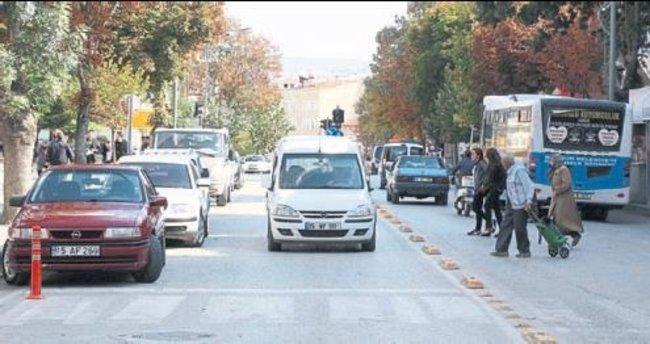 Burdur trafiğine üniversite katkısı