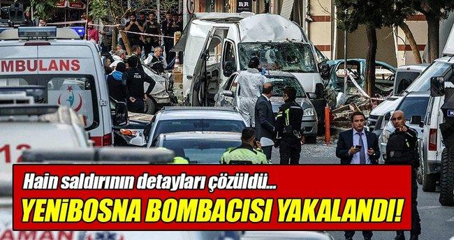 Yenibosna bombacısı yakalandı!