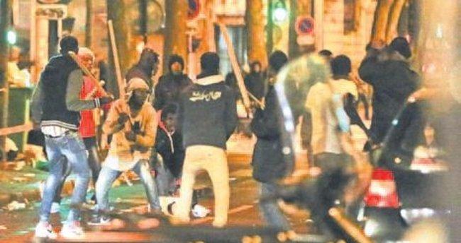 Paris sokaklarında göçmen savaşları