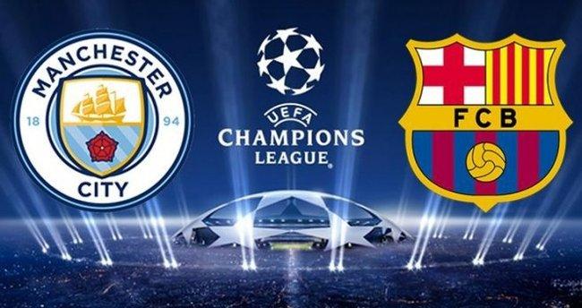 Manchester City - Barcelona maçı saat kaçta? Hangi kanalda? Canlı izle.