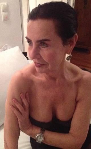 Fatma Girik'te 71 yaş güzelliği
