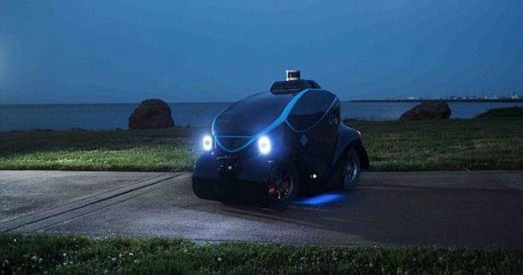 Sürücüsüz polis aracı, Dubai'de görücüye çıktı