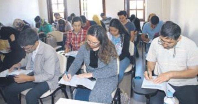 Beypazarı'nda sınav hazırlığı