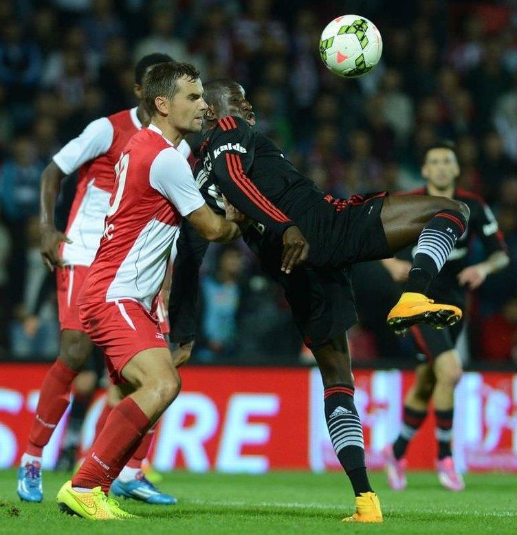 Balıkesirspor - Beşiktaş maçının fotoğrafları