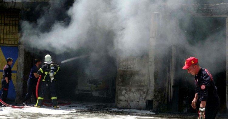 Akaryakıt tankerinde patlama: 2 yaralı