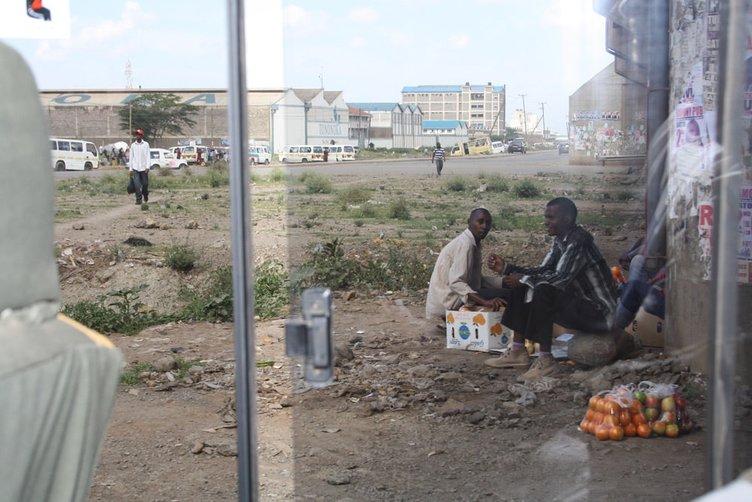 Kenya'dan insan manzaraları