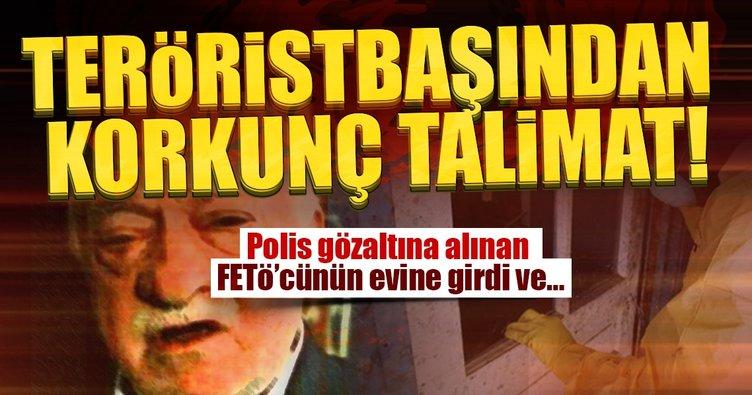 Teröristbaşı Gülen'den korkunç talimat!