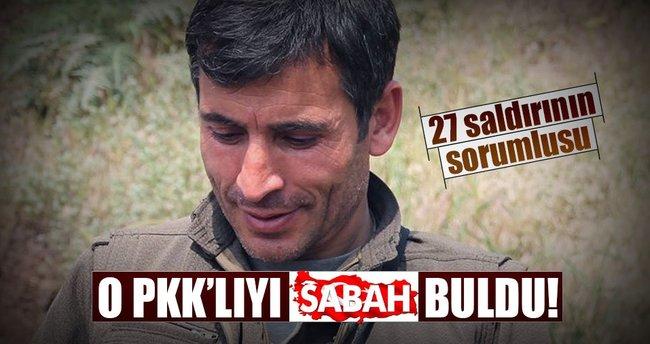 O PKK'lıyı SABAH buldu