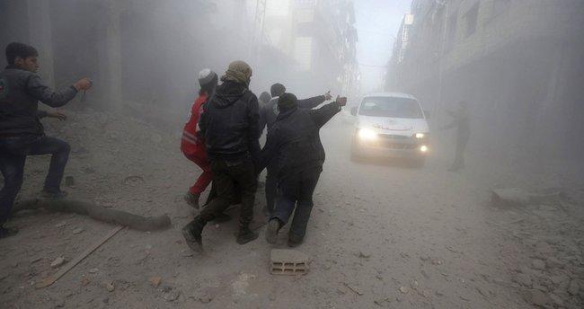 Rejim Halep'e klor gazı ile saldırdı