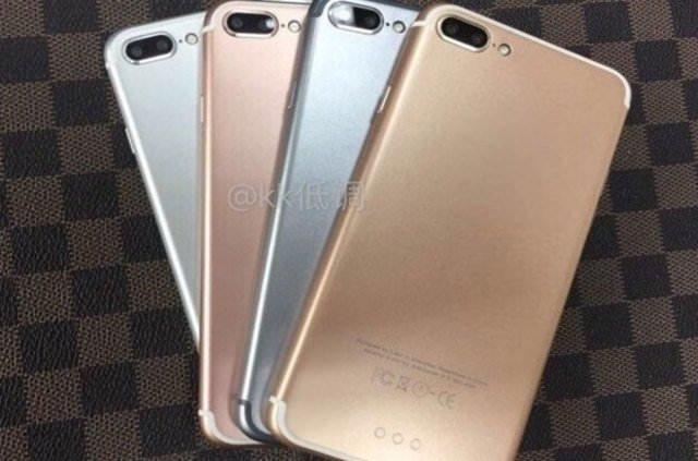 iPhone 7 Plus modelleri sızdı