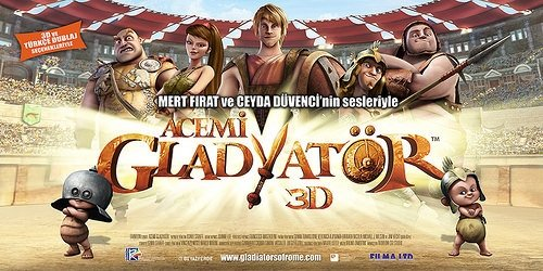 Acemi Gladyatör filminden kareler