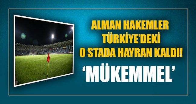 Alman hakemlerden Osmanlı Stadı'na tam not