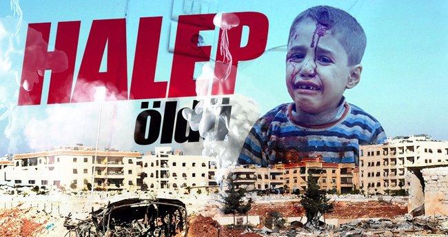 Halep'te katliamlar sonrası hastane hizmeti durdu!
