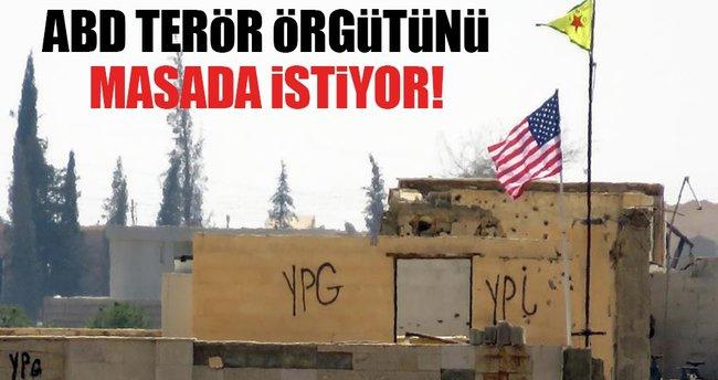 ABD terör örgütü PYD'yi masada istiyor