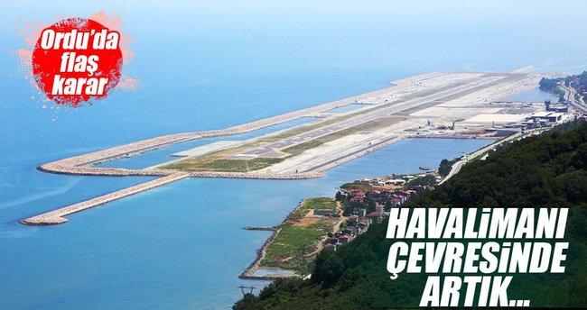 Ordu-Giresun Havalimanı çevresinde yüksek kata izin yok