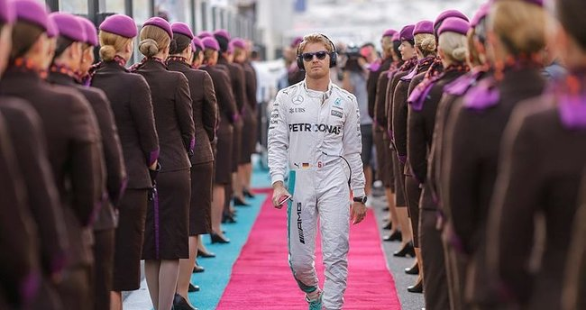 Formula'da şampiyon Rosberg!