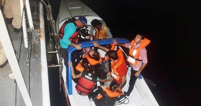 İzmir'de 65 mülteci yakalandı
