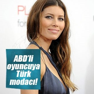 Jessica Biel'e Türk modacı