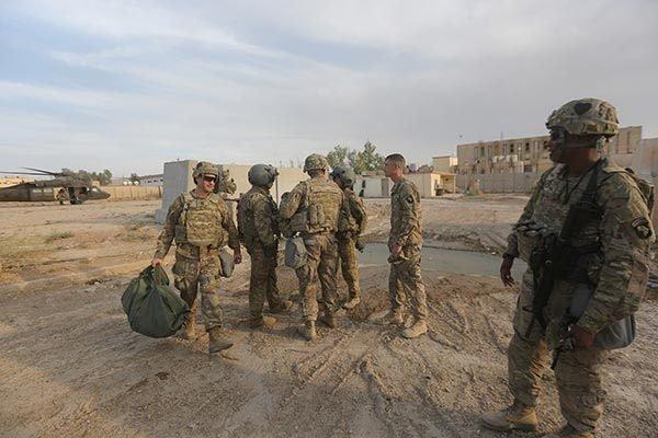 ABD askerlerinden ilk fotoğraflar