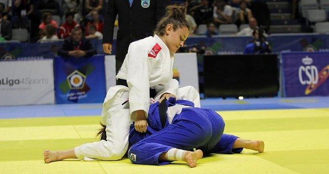 Judoda İrem Avrupa ikincisi oldu