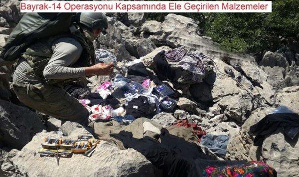 PKK mezarlığından çıkanlar hayrete düşürdü