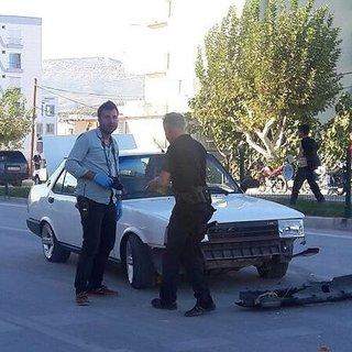 Mersin'de seyir halindeki araç tarandı 5 yaralı