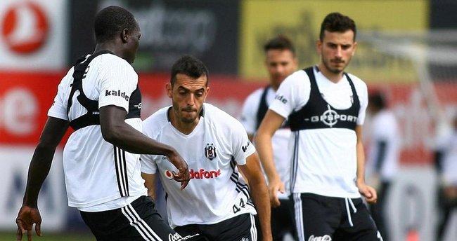 Beşiktaş Benfica mesaisine başladı