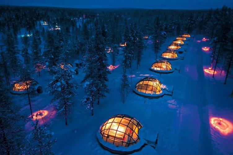Dünyanın en havalı otelleri
