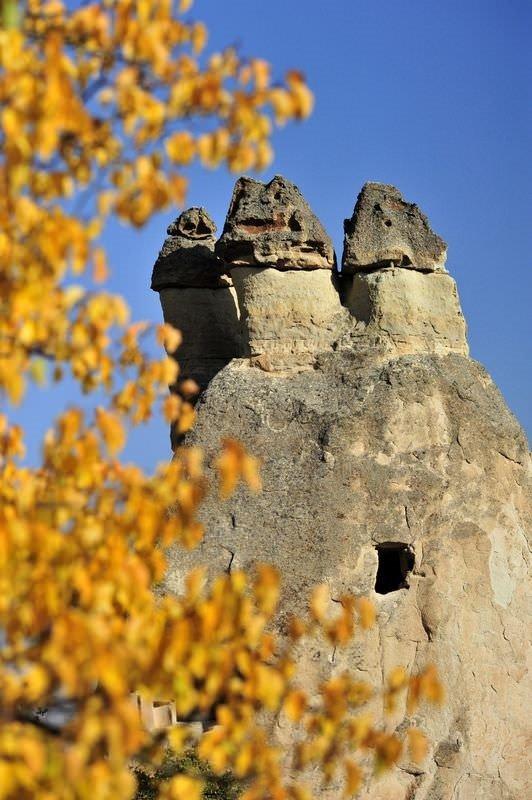Kapadokya'da sonbahar güzelliği