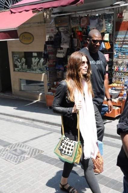 Mahmutpaşa'da bir Hollywood starı