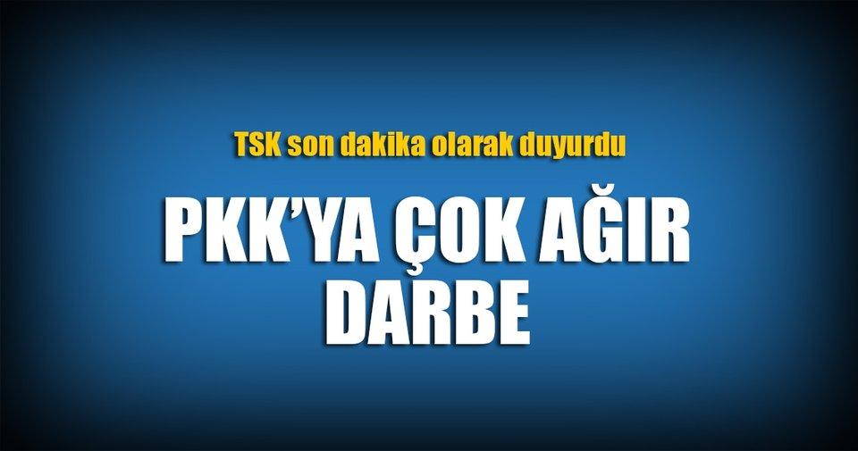 PKK'ya ağır darbe! Ağrı'da 29 terörist...