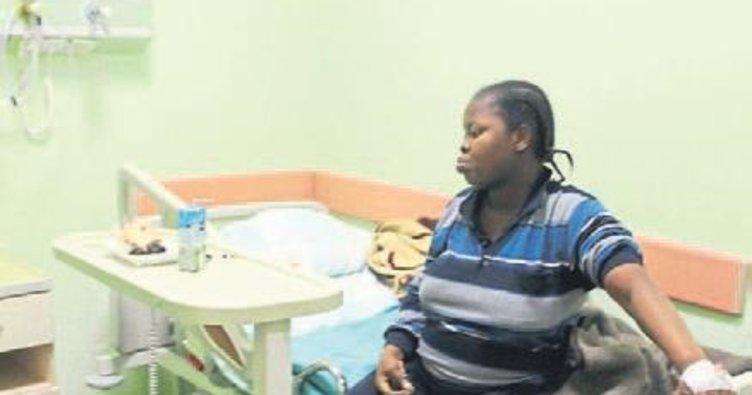 Hamile mülteci denizden kurtarıldı
