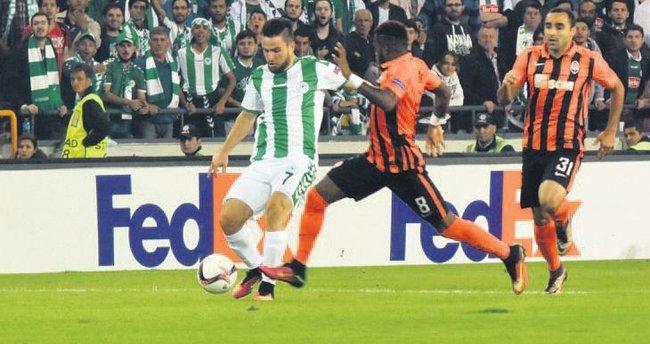 Konyaspor'a yazık oldu