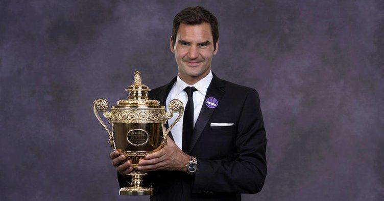 Federer bir kez daha tarihe geçti