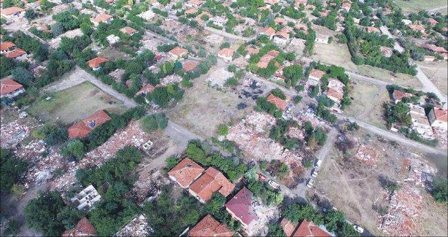 Saraycık'ta yıkım başladı