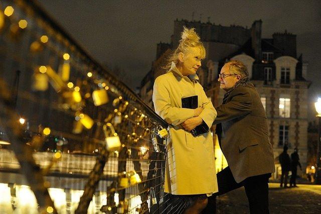 Paris'te Bir Hafta Sonu filminden kareler