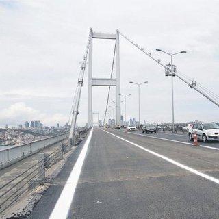 Şehitler Köprüsü 6 şeritle hizmette