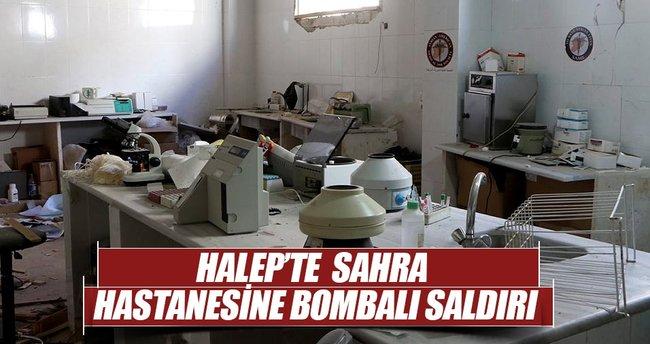 Halep'te sahra hastanesine bombalı saldırı