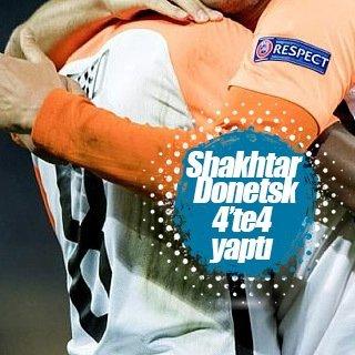 Shakhtar Donetsk 4'te 4 yaptı