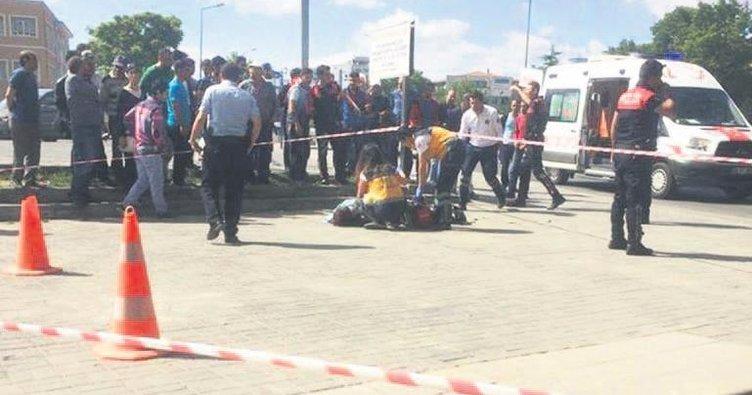 Altındağ'da öfkeli koca dehşeti