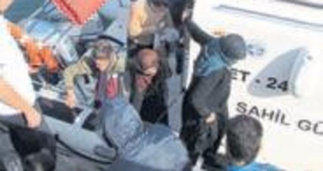 Ege'de 95 kaçak yakalandı