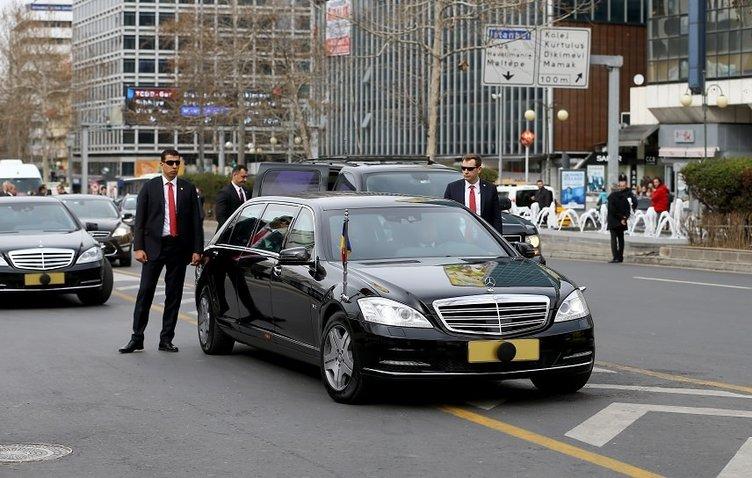 Romanya Cumhurbaşkanı Türkiye'ye geldi