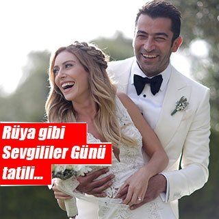 Kenan İmirzalıoğlu'ndan Sinem Kobal'a romantik sürpriz