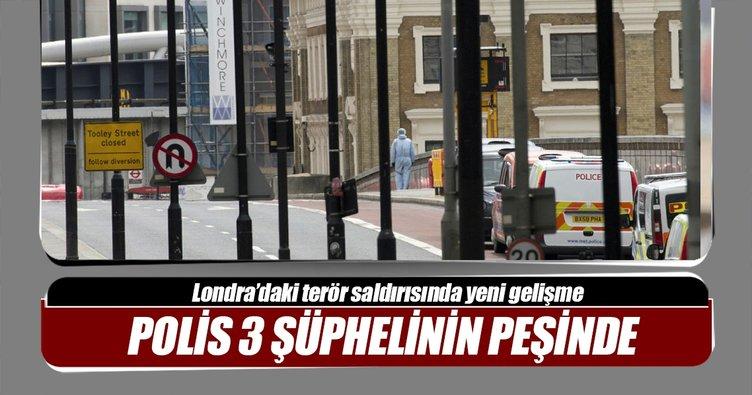 İngiltere'de polis 3 şüphelinin peşinde