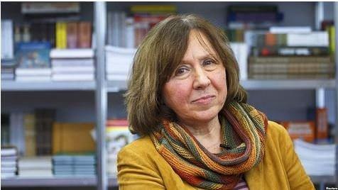 2015 Nobel Edebiyat Ödülü'nün Sahibi Svetlana Alexievich