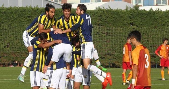 U21 derbisinde Fenerbahçe, Galatasaray'a fark attı